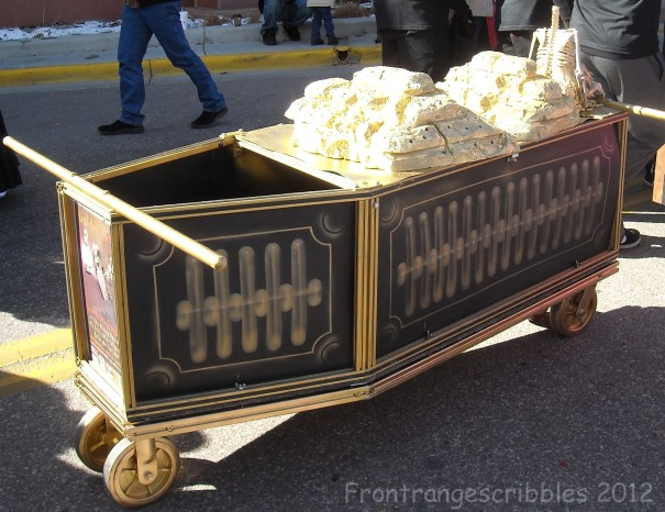 Ore cart coffin