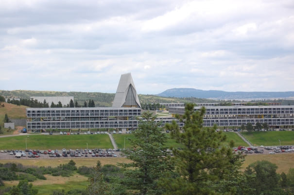 Cadet Chapel, United States AIr Force Academy Colorado Springs CO