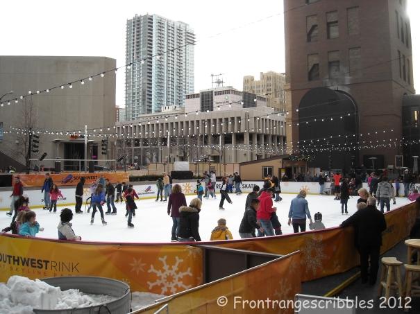 Ice Rink-Denver Colorado