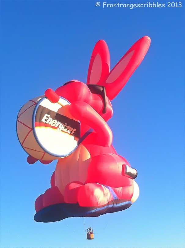 Energizer Bunny Hot Air Balloon